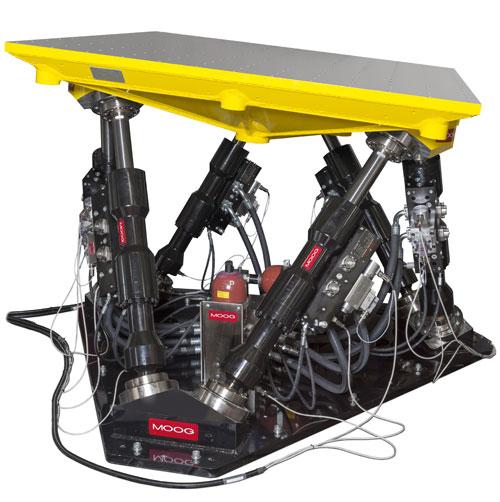 Nuova tavola di simulazione idraulica Moog realizzata per Thule